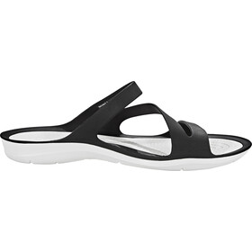 Crocs Swiftwater Sandalias Mujer, black/white